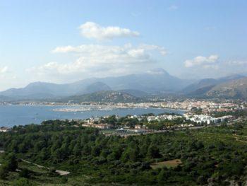 Blick über Port de Pollenca