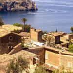 Die Gemeinde Deia auf der Insel Mallorca