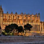 Die Stadt Palma de Mallorca auf der Baleareninsel