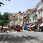 Die Stadt Soller auf der Insel Mallorca