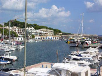 Der Hafen in Cala Ratjada / Mallorca