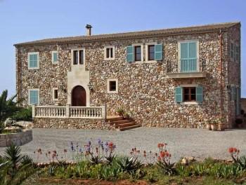 Traditionelle Finca als Wohnhaus auf Mallorca