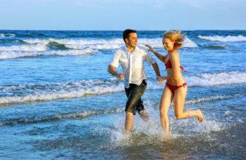 Spaß am Strand bei Cala Millor