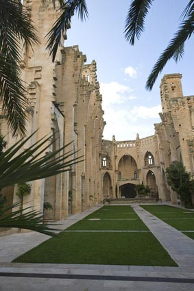 Die unvollständige Kirche Eglesia Nova in Son Servera