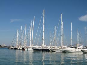 Jachthafen in Spanien