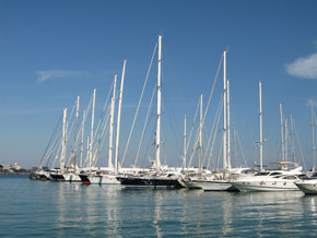 Jachthafen in Mallorca