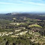Die Gemeinde Llucmajor auf der Insel Mallorca