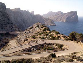 Radfahren bei Cap de Formentor